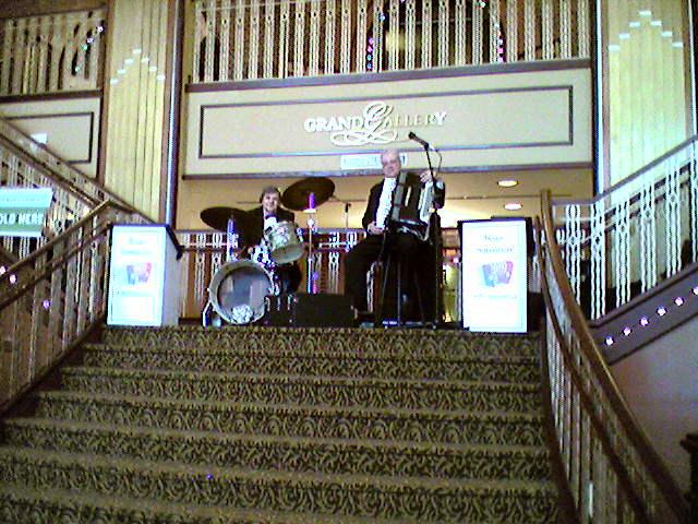 Paramount theatre lobby Aurora, Illinois - 2007