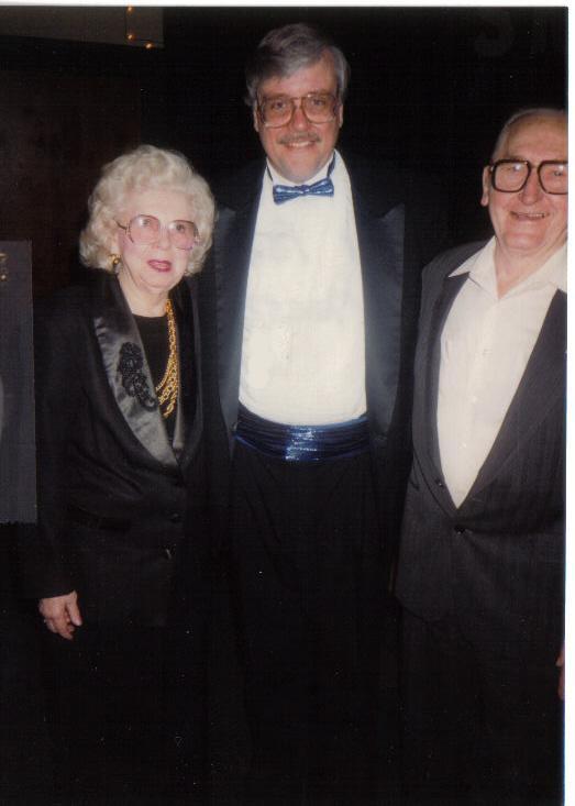 Ron Smolen w/ Songwriters Carol Berthrong and Beryl Peavy Big Band Weekend Keller Ramada Inn, Effingham, IL (1994)