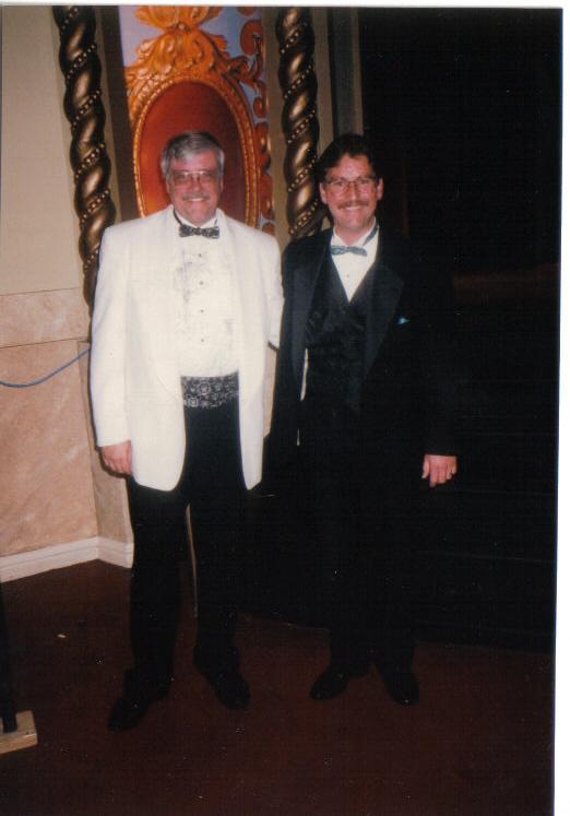 Ron Smolen w/ Organist David Wickerham @ Big Band / Organ Concert, Tivoli Theatre, Downers Grove, IL (1996)